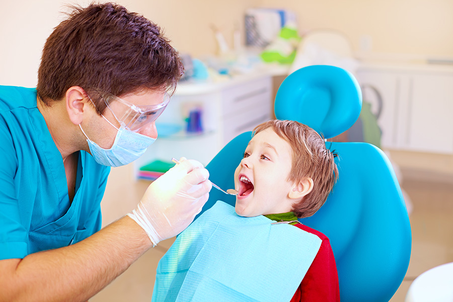 child's first dentist appointment